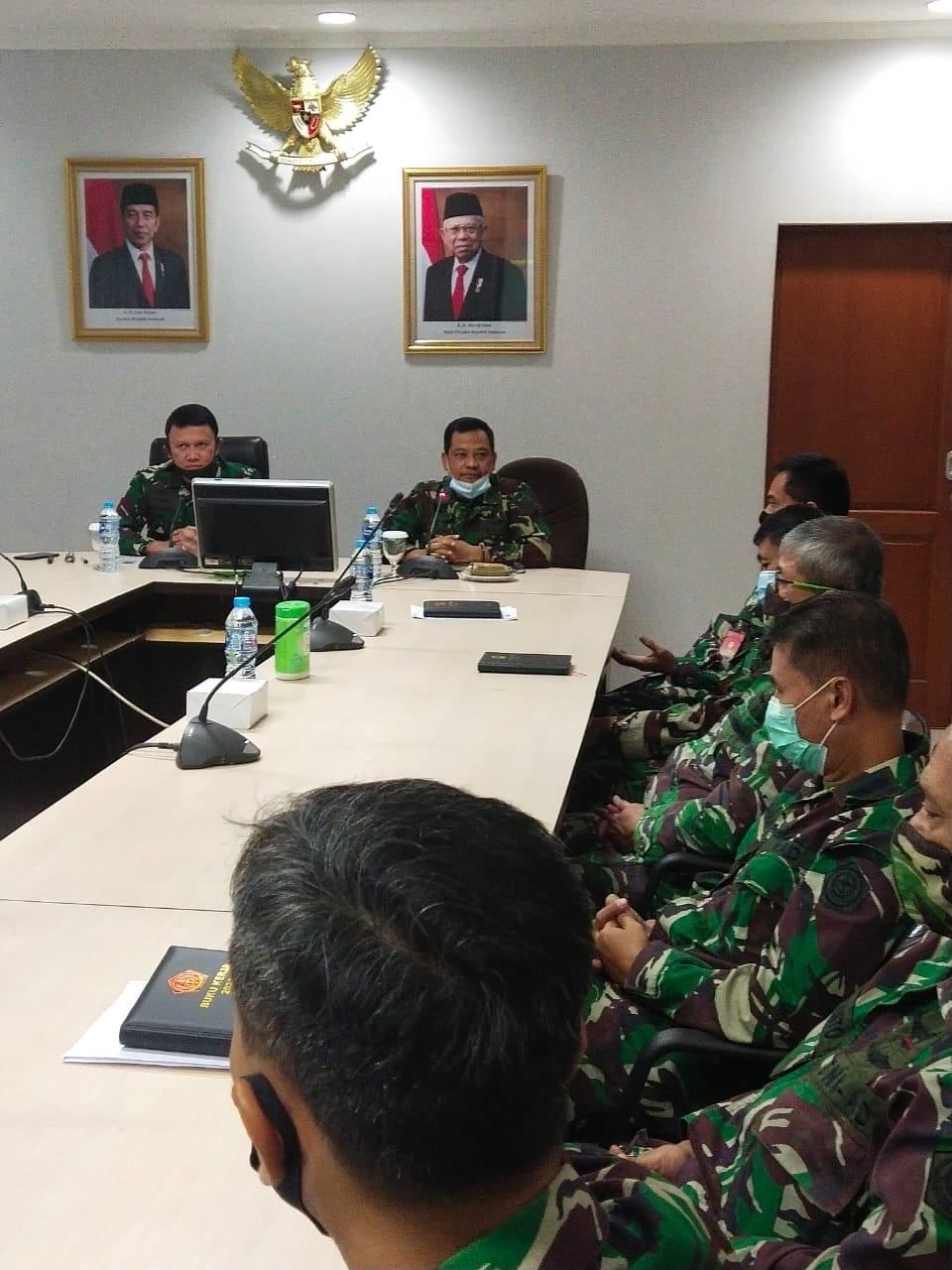 Sosialisasi pembangunan ZI menuju WBK/WBBM dari Itjen TNI