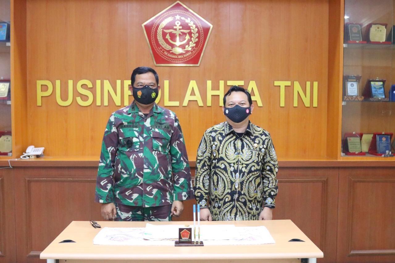 PENANDATANGANAN PKS PANDI DAN PUSINFOLAHTA TNI