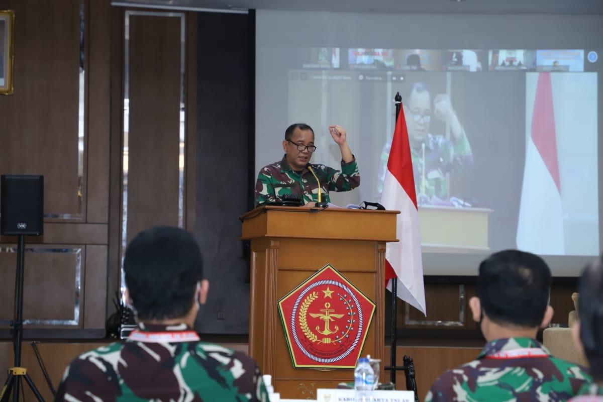 Askomlek Panglima TNI Buka Rakornis Infolahta TNI